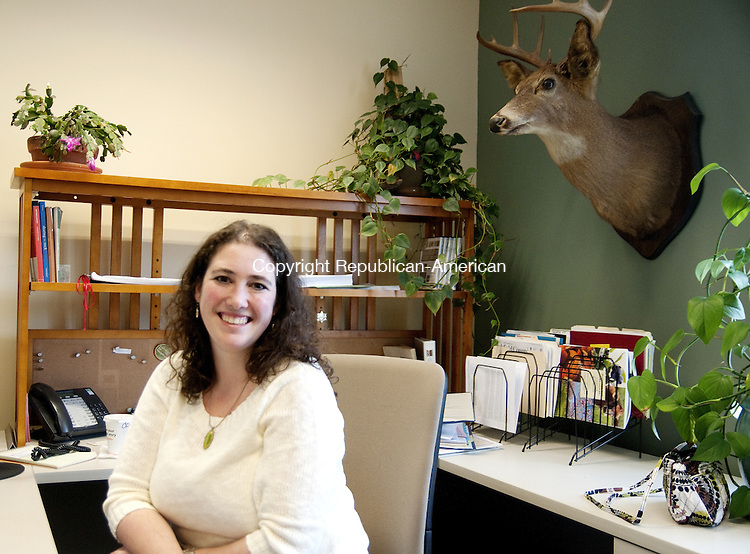 Torrington, CT - 14 Feb. 2014 - 021414AJ03 - Rista Malanca, of Winsted, has been hired as Torrington's new zoning and wetlands enforcement officer. She is to replace Kimberly Barbieri who is leaving in April. Alec Johnson/ Republican American