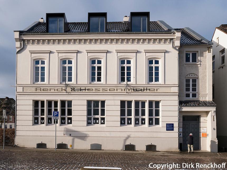 Kulturwerkstatt am Harburger Binnenhafen, Hamburg, Deutschland, Europa<br /> Kulturwerkstatt at Harburg Harbour, Hamburg, Germany Europe
