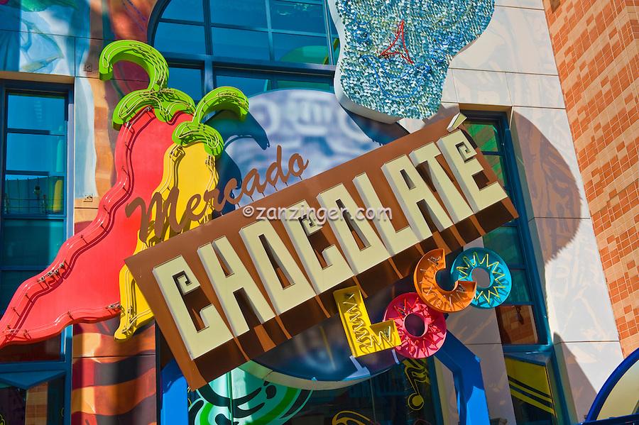Mercado Chocolate LOCO, Universal City, CA, Citywalk, Universal studios, holiday,  travel, us, usa, vacation,