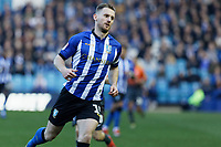 Barry Bannan of Sheffield Wednesday in action during the Sky Bet Championship match between Sheffield Wednesday and Swansea City at Hillsborough Stadium, Sheffield, England, UK. Saturday 23 February 2019