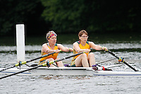 W.MasE.2x SF -  Berks: 275 York City RC -  Bucks: 277 Norwich RC<br /> <br /> Friday - Henley Masters Regatta 2016<br /> <br /> To purchase this photo, or to see pricing information for Prints and Downloads, click the blue 'Add to Cart' button at the top-right of the page.