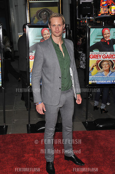 "Alexander Skarsgard at the Los Angeles premiere of ""Grey Gardens"" at Grauman's Chinese Theatre, Hollywood..April 16, 2009  Los Angeles, CA.Picture: Paul Smith / Featureflash"
