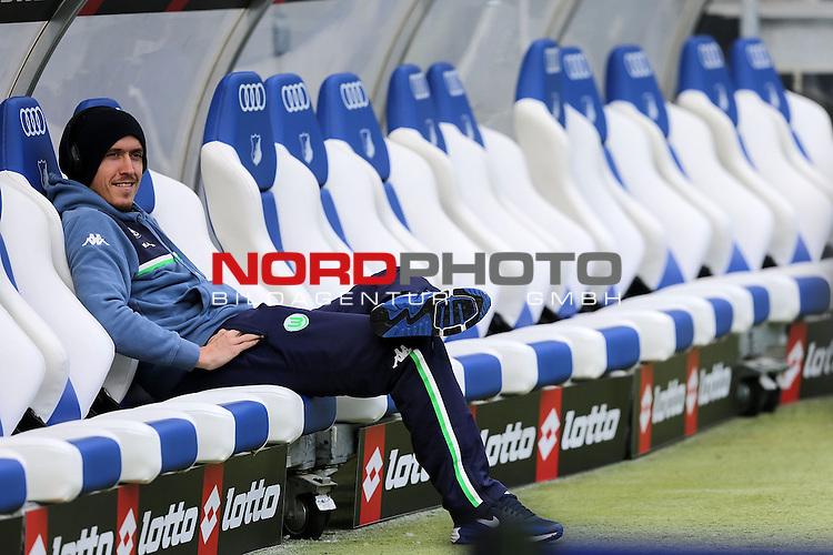 12.03.2016, Wirsol Rhein-Neckar-Arena, Sinsheim, GER, 1.FBL, TSG 1899 Hoffenheim vs VfL Wolfsburg<br /> Max Kruse (Wolfsburg)<br /> <br /> Foto &copy; nordphoto /  Bratic