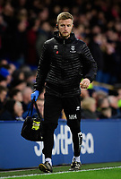 Lincoln City's head of sports science and medicine Mike Hine<br /> <br /> Photographer Chris Vaughan/CameraSport<br /> <br /> Emirates FA Cup Third Round - Everton v Lincoln City - Saturday 5th January 2019 - Goodison Park - Liverpool<br />  <br /> World Copyright &copy; 2019 CameraSport. All rights reserved. 43 Linden Ave. Countesthorpe. Leicester. England. LE8 5PG - Tel: +44 (0) 116 277 4147 - admin@camerasport.com - www.camerasport.com