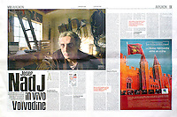 Libération (main French newspaper)..2006/07/11.Josef Nadj.Photos:Martin Fejer