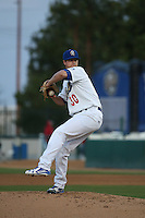 Andrew Sopko (30) of the Rancho Cucamonga Quakes pitches against the San Jose Giants at LoanMart Field on May 23, 2016 in Rancho Cucamonga, California. San Jose defeated Rancho Cucamonga, 4-2. (Larry Goren/Four Seam Images)
