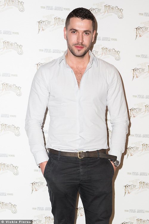 Shayne Ward, The War of the Worlds, musical adaptation by Jeff Wayne photocall, The Hospital Club, London UK, 28 February 2014, Photo by Vickie Flores.