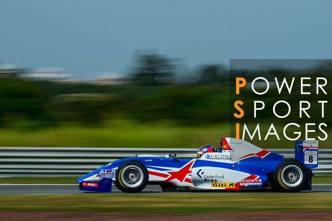 Yuan Bo of China and Cebu Pacific Air by KCMG drives during the Formula Masters China Series as part of the 2015 Pan Delta Super Racing Festival at Zhuhai International Circuit on September 20, 2015 in Zhuhai, China.  Photo by Aitor Alcalde/Power Sport Images