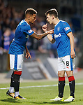 James Tavernier and Ryan Jack have a discussion