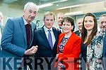 Taoiseach Enda Kenny TD attend the launch of the €16.5m sports academy at ITT North Campus on Monday.  Taoiseach Enda Kenny meeting Denis Courtney, Ann Courtney and Amanda Howe