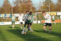 VOETBAL: JOURE: 09-11-2014, Sportpark de Hege Simmerdyk, SC Joure - VV Bergum, uitslag 3-1, ©foto Martin de Jong