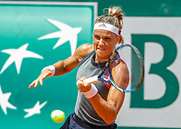 Paris, France, 27 May, 2018, Tennis, French Open, Roland Garros, Arantxa Rus (NED)<br /> Photo: Henk Koster/tennisimages.com
