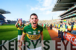 Michael Geaney. Kerry players celebrate their victory over Donegal in the All Ireland Senior Football Final in Croke Park Dublin on Sunday 21st September 2014.