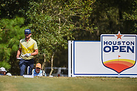 Scott Harrington (USA) approaches the tee on 2 during round 4 of the 2019 Houston Open, Golf Club of Houston, Houston, Texas, USA. 10/13/2019.<br /> Picture Ken Murray / Golffile.ie<br /> <br /> All photo usage must carry mandatory copyright credit (© Golffile | Ken Murray)