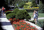 Ornamental gardens, Ottawa, Ontario, part of National Experimental Farm and research station