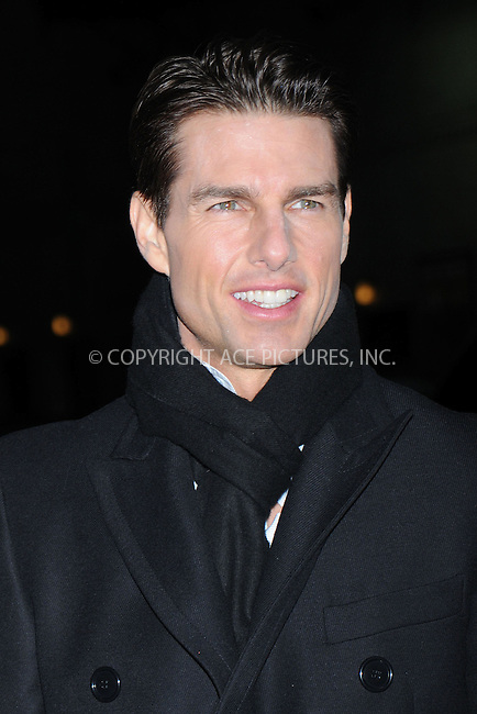 WWW.ACEPIXS.COM . . . . .  ....December 16 2008, New York City....Actor Tom Cruise made an appearance at the 'Late Show with David Letterman' on December 16 2008 in New York City....Please byline: KRISTIN CALLAHAN - ACEPIXS.COM..... *** ***..Ace Pictures, Inc:  ..tel: (212) 243 8787..e-mail: info@acepixs.com..web: http://www.acepixs.com