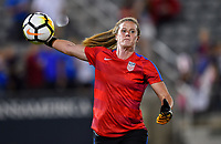 Commerce City, CO - Friday September 15, 2017: Alyssa Naeher during an International friendly match between the women's National teams of the United States (USA) and New Zealand (NZL) at Dick's Sporting Goods Park.