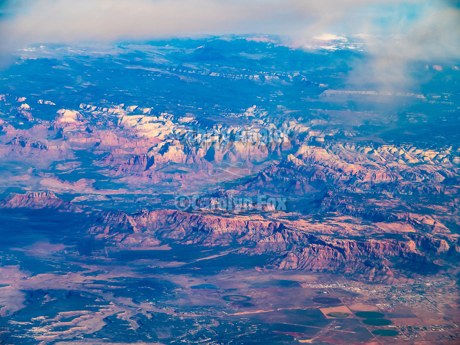 Colorado Plateau, Utah, America's flyover country: SMF-LAX-MDW