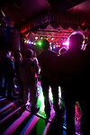 Audience at The Roxy live music venue on the Sunset Strip in West Hollywood, CA