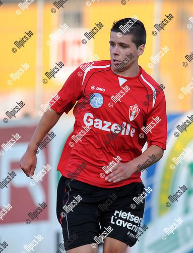 2013-07-13 / Voetbal / seizoen 2013-2014 / Lyra - Racing Mechelen / Jordy Van Coillie<br /><br />Foto: Mpics.be