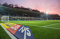 General view of play during the Sky Bet League 2 match between Wycombe Wanderers and Hartlepool United at Adams Park, High Wycombe, England on 26 November 2016. Photo by PRiME Media Images.