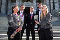 Parliamentary reception for the Silver Ferns at Parliament, Wellington, Monday, 26 August 2019. Credit: Hagen Hopkins.