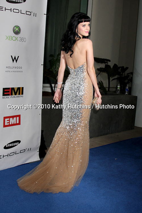 Katy Perry .arriving at the EMI Post Grammy Party 2010.W Hotel Hollwood.Los Angeles, CA.January 31, 2010.©2010 Kathy Hutchins / Hutchins Photo....