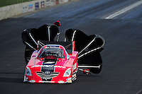 Jul, 22, 2011; Morrison, CO, USA: NHRA funny car driver Cruz Pedregon during qualifying for the Mile High Nationals at Bandimere Speedway. Mandatory Credit: Mark J. Rebilas-
