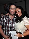 Sharon Gaynor celebrating her 30th birthday in Brú with friend Alan Brannigan. Photo: Colin Bell/pressphotos.ie