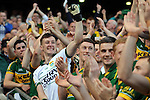 Brian kelly celebrate in the All-Ireland Football Final  in Croke Park 2014.<br /> Photo: Don MacMonagle<br /> <br /> <br /> Photo: Don MacMonagle <br /> e: info@macmonagle.com