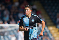Luke O'Nien of Wycombe Wanderers during the Sky Bet League 2 match between Wycombe Wanderers and York City at Adams Park, High Wycombe, England on 8 August 2015. Photo by Andy Rowland.