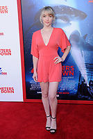 "12 June 2017 - Westwood, California - Violett Beane. ""47 Meters Down"" Los Angeles Premiere held at Regency Village Theatre in Westwood. Photo Credit: Birdie Thompson/AdMedia"