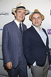 Jefferson Mays and  J.T. Rogers attends the 83rd Annual Drama League Awards Ceremony  at Marriott Marquis Times Square on May 19, 2017 in New York City.