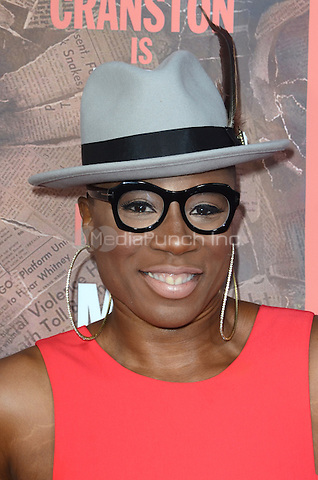 HOLLYWOOD, CA - MAY 10: Aisha Hinds at the 'All The Way' Los Angeles Premiere at Paramount Studios on May 10, 2016 in Hollywood, California. Credit David Edwards/MediaPunch