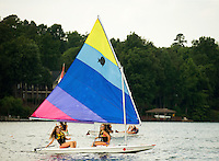 YMCA resident Camp Thunderbird, operating since 1936, is one of several YMCA camps located in the Carolinas. The 100-acre camp is located about 20 minutes from downtown Charlotte, North Carolina. In addition to the camp's extensive water program, campers are able to choose from a wide variety of sports, including football, basketball, skateboarding, ropes courses, high adventure and more.<br /> <br /> Charlotte Photographer -PatrickSchneiderPhoto.com