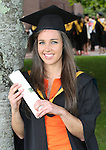 28/8/2015    Attending the UL conferring recently was Julia White, Douglas, Cork who was conferred  with a Bachelor of Science in Physical Education. Julia is part of the ladies camogie team and the ladies football team who won championships during her time at UL. She was recently awarded a scholarship to complete her Masters at Mary Immaculate College.<br /> Photograph Liam Burke/Press 22