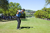 John Rahm (ESP) on the 12th during the 5th round at the WGC Dell Technologies Matchplay championship, Austin Country Club, Austin, Texas, USA. 25/03/2017.<br /> Picture: Golffile | Fran Caffrey<br /> <br /> <br /> All photo usage must carry mandatory copyright credit (&copy; Golffile | Fran Caffrey)