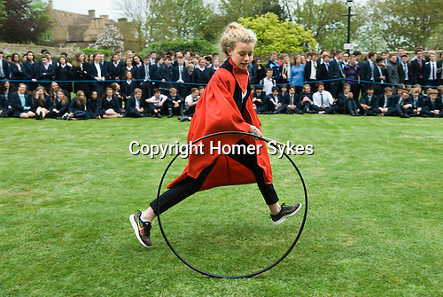 Hoop Trundle. The Kings School Ely 2016