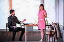 English National Opera presents, in a co-production with Dutch National Opera, Amsterdam, Puccini's LA BOHEME, at the London Coliseum. Picture shows: Zach Borichevsky (Rodolfo), Corinne Winters (Mimi).