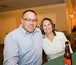 Naugatuck, CT- 05 October 2017-100517CM13-  From left, Bob and Tammy Delagrange of Naugatuck are photographed during an Oktoberfest fundraiser, to benefit the Whittemore Library at the Crystal Room in Naugatuck on Thursday.  Christopher Massa Republican-American