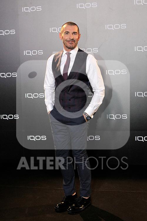 Jesus Vazquez attends to IQOS3 presentation at Palacio de Cibeles in Madrid. February 10,2019. (ALTERPHOTOS/Alconada)