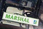 SCHIPLUIDEN - De buggy van de Marshal op de Golfbaan Delfland in Schipluiden. FOTO KOEN SUYK