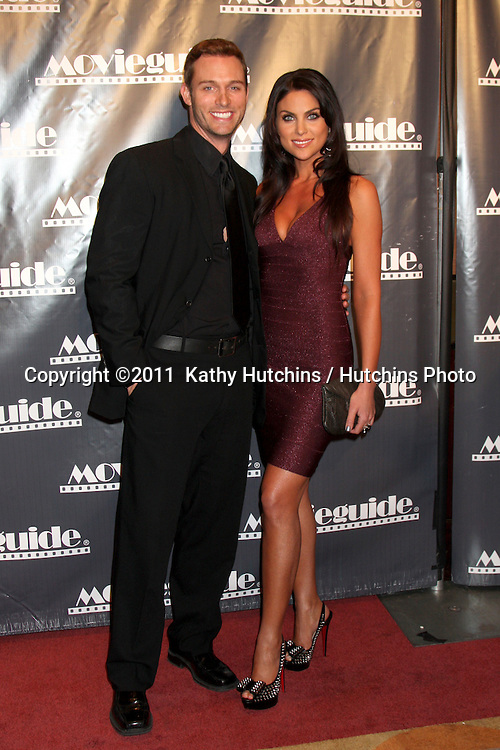 LOS ANGELES - FEB 18:  Eric Martsolf, Nadia Bjorlin arrives at the 19th Annual Movieguide Awards Gala at Universal Hilton Hotel on February 18, 2011 in Los Angeles, CA