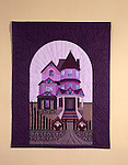 """Remember the House on the Hill"".Quilt by Jan Stehlick"