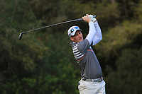 Steven Tiley (ENG) on the 5th tee during Round 3 of the Challenge Tour Grand Final 2019 at Club de Golf Alcanada, Port d'Alcúdia, Mallorca, Spain on Saturday 9th November 2019.<br /> Picture:  Thos Caffrey / Golffile<br /> <br /> All photo usage must carry mandatory copyright credit (© Golffile | Thos Caffrey)