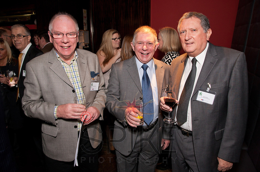 From left: Stephen Nash, Ray Holden of Brett & Randall and Nick Shelvey of East Midlands Fabrications