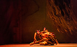 """English National Ballet. """"Lest We Forget"""" programme. """"Firebird"""". Choreography by George Williamson."""