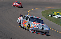 Apr 19, 2007; Avondale, AZ, USA; Nascar Nextel Cup Series driver David Stremme (40) leads teammate Reed Sorenson (41) during practice for the Subway Fresh Fit 500 at Phoenix International Raceway. Mandatory Credit: Mark J. Rebilas