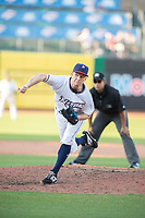 Northwest Arkansas Naturals pitcher Grant Gavin (25) delivers a pitch during a Texas League game between the Northwest Arkansas Naturals and the Arkansas Travelers on May 30, 2019 at Arvest Ballpark in Springdale, Arkansas. (Jason Ivester/Four Seam Images)