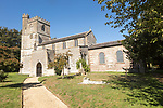 Church of All Saints, Enford, Wiltshire, England, UK